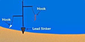 surf-fishing-bottom-rig