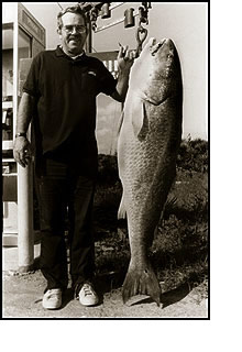 Largest Red Drum OBX